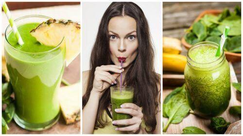 5 Yeşil Smoothie ile Vücudunuzu Arındırın