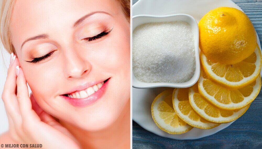 Sağlıklı Bir Cilt için Limon Kullanın