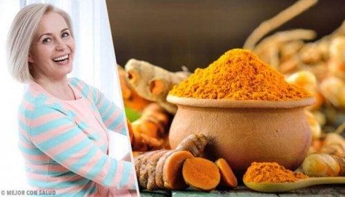 Menopoz Sırasında Zerdeçalın 7 Faydası