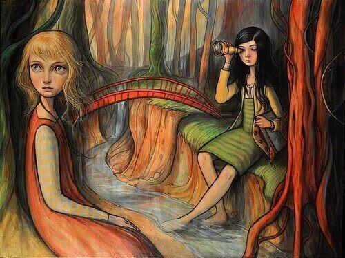 iki kadın tablosu