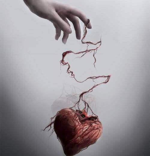 elden kayıp giden kalp figürü