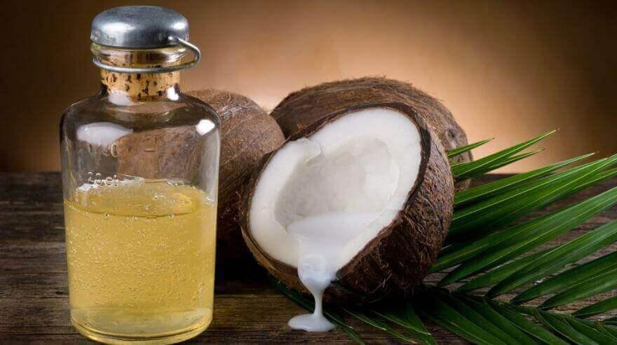 biberiye ve hindistan cevizi yağıyla saç tedavisi