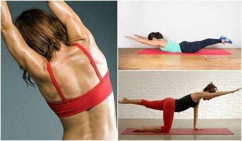 Ağırlık Kullanmadan Yapabileceğiniz 5 Sırt Egzersizi