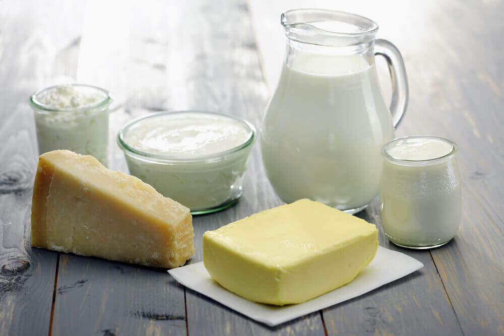 farklı süt ürünleri