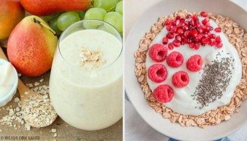 Metabolizmayı Hızlandıran Yulaf Ezmeli Kahvaltı Tarifleri