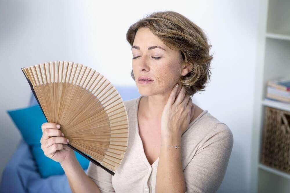 menopozda sıcak basması