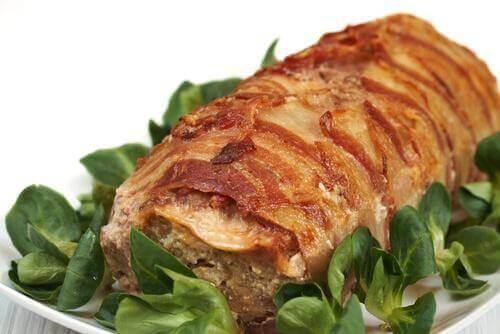marine edilmiş et yemeği
