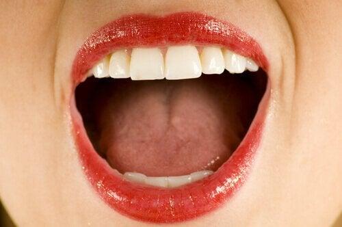 dil ülseri oluşumu