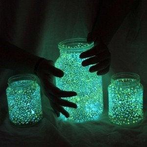ışıklı kavanozlar