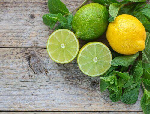kesilmiş limon