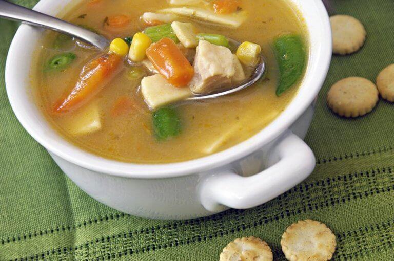 kasede et sulu çorba
