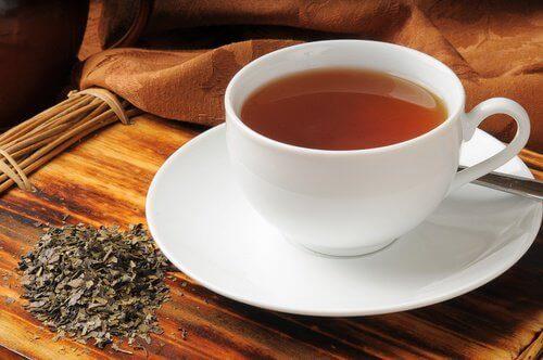 sindirim problemi için boldo çayı