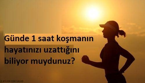 Günde 1 Saat Koşmak Daha Uzun Yaşamanızı Sağlar