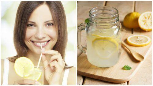Limonlu Ilık Su İçmek için 9 Neden