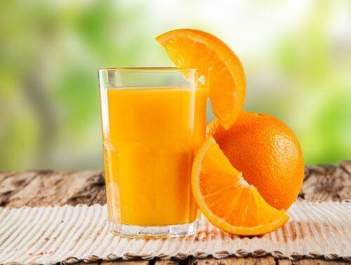 portakal ve suyu