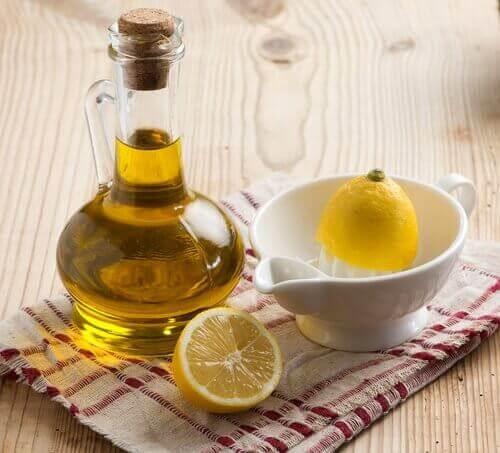 limon ve zeytinyağı