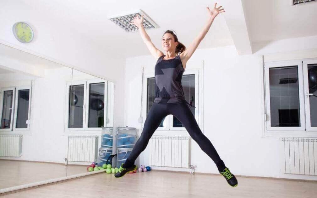 evde egzersiz yapmak