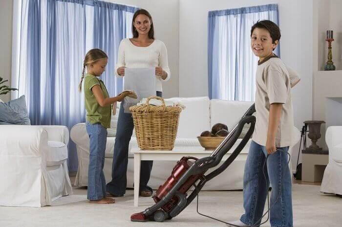 ailece temizlik