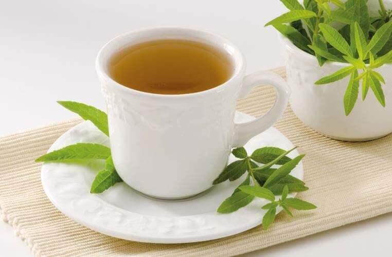 bir kupa mine çiçeği çayı