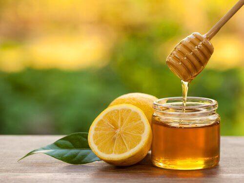 ballı limonlu çay