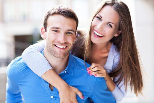 mutlu bir çift