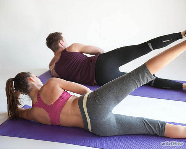 güzel bacaklar için egzersiz