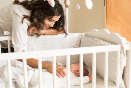 bebeğinize uyumayı öğretmek