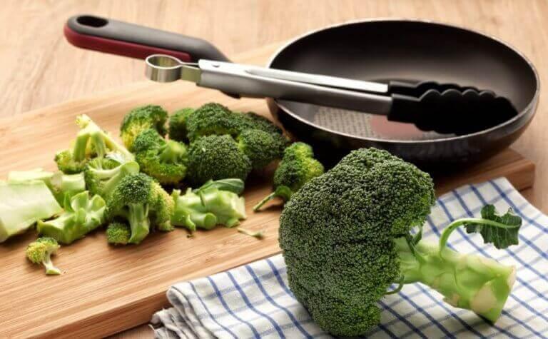 brokoli ve tava