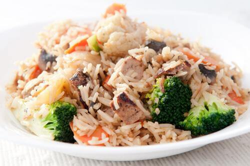 brokoli balık pilav