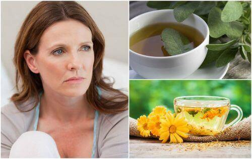 Menopozda Sıcak Basması İçin 5 Doğal Tedavi