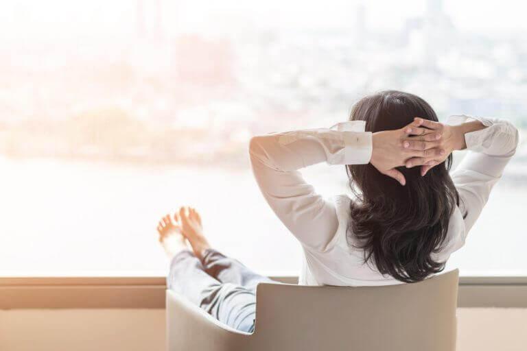 mutlu bir menopoz için rahatlamak