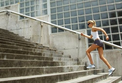 merdiven kız