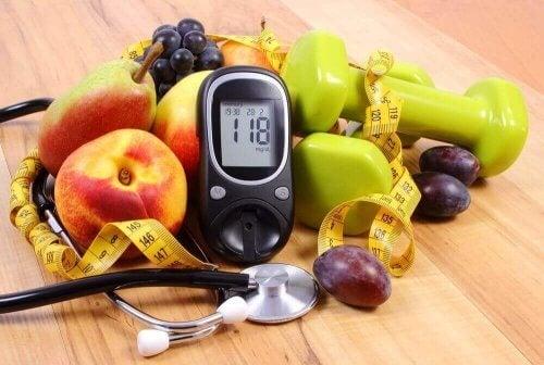 meyveler mezura kan şekeri ölçüm cihazı ağırlıklar