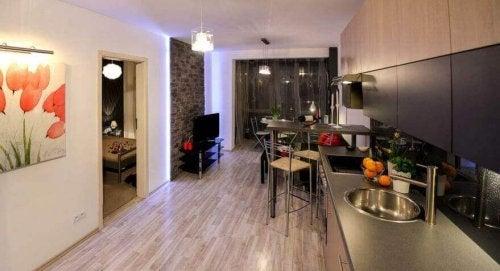 minimalist ev salon