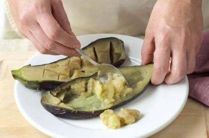 pişirilmiş patlıcan