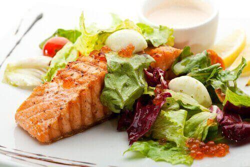 sebze ve balık