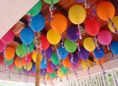 Balonlarla Süsleme