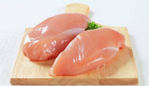 çiğ tavuk göğsü