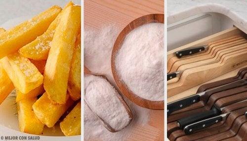 Sizi Zor Durumlardan Kurtaracak 8 Mutfak Hilesi