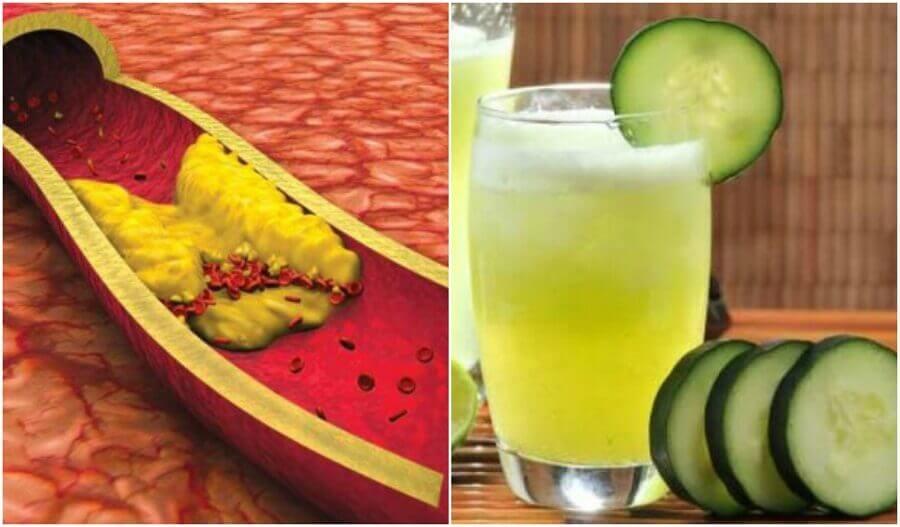 Aloe Vera, Salatalık ve Greyfurt Suyu İle Kolesterolünüzü Düşürün