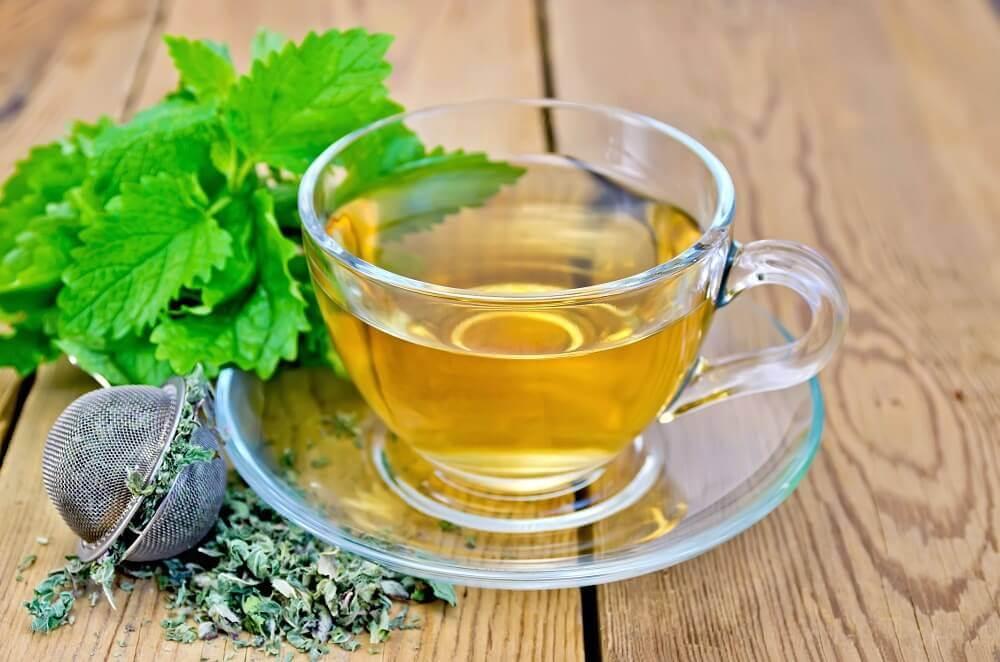 bir bardak bitki çayı