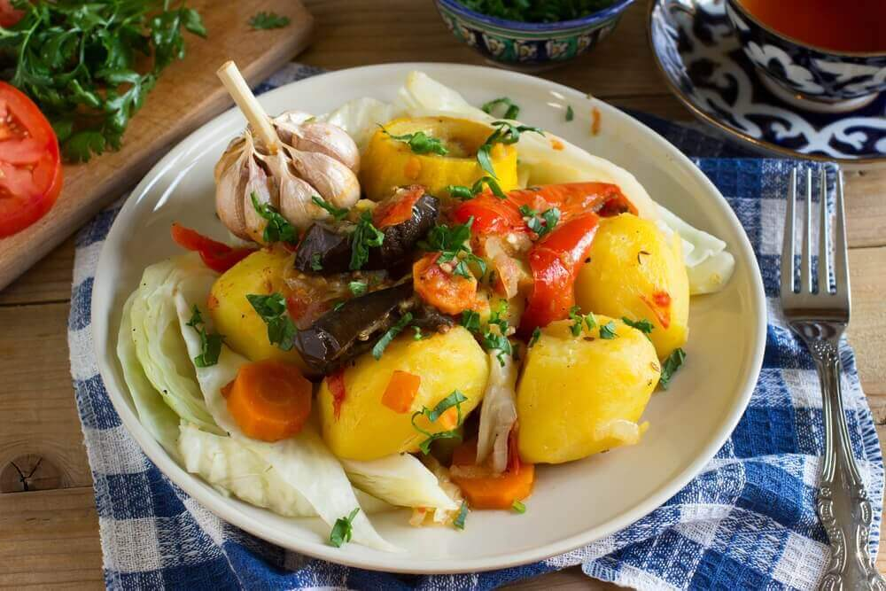 patatesli akşam yemeği