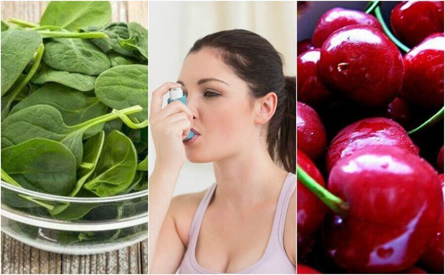 Astım Hastalığına Doğal Yollarla Savaş Açmanızı Sağlayacak 7 Yiyecek