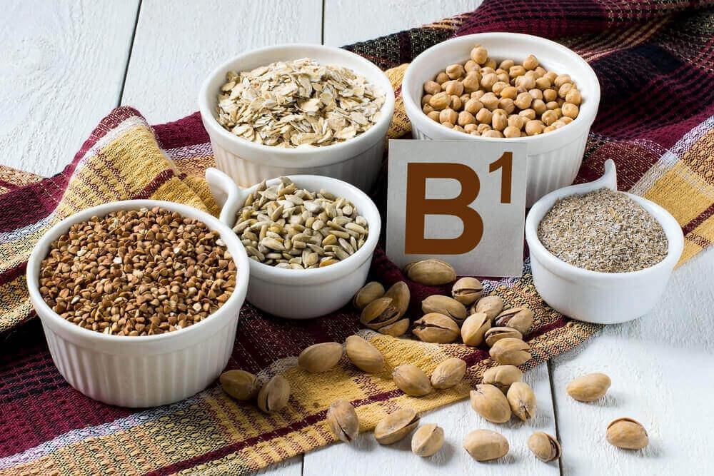 B1 vitamini olan besinler