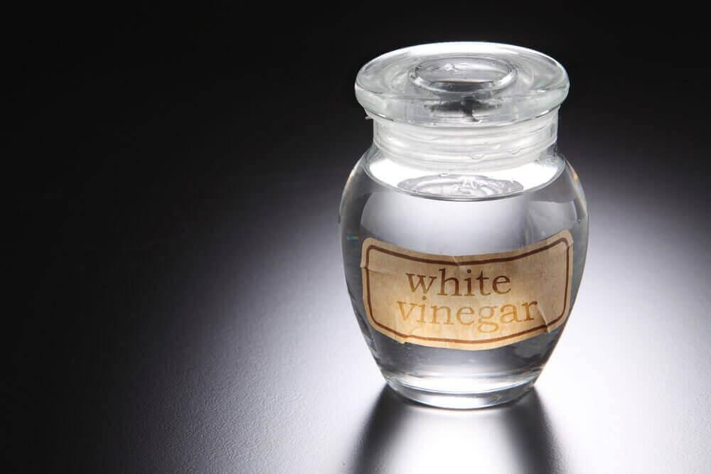 beyaz sirke şişesi