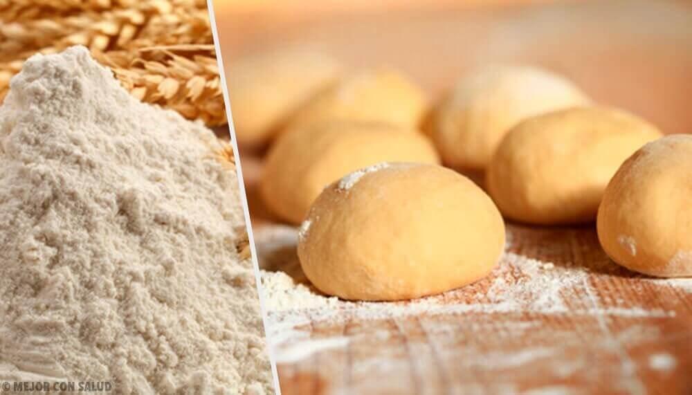 italyan ekmeği buğday un hamur