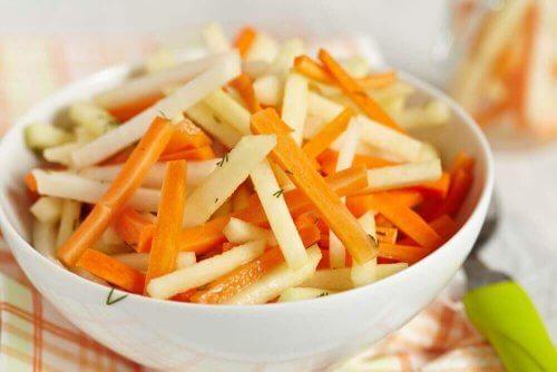 Beş Kolon Temizleyici Detoks Salatası