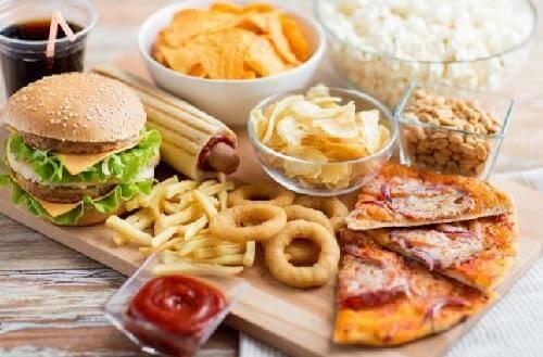 fast food yiyecekler