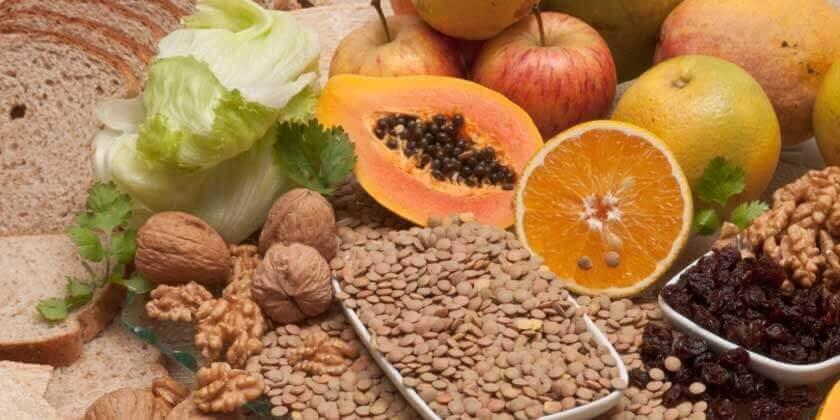 Çözünebilir liflerdeki yüksek besinler
