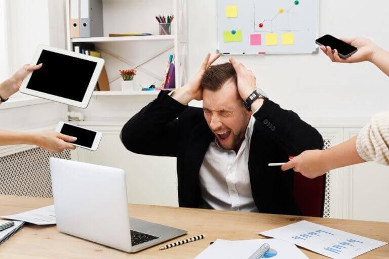 stresli iş ortamı